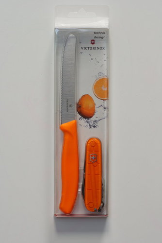 Victorinox Messer Set Orange Limitiert